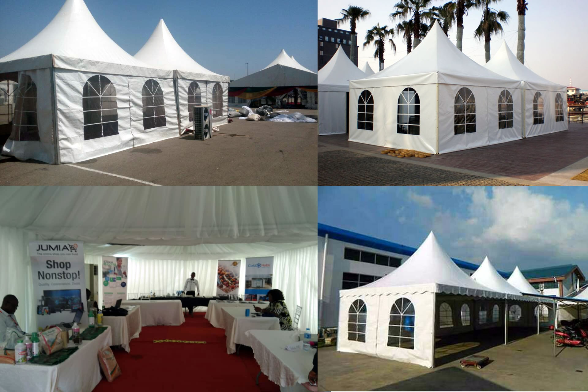 ekanson tent and event slide 2 - Home - TENT AND MARQUEE RENTALS IN ABUJA NIGERIA
