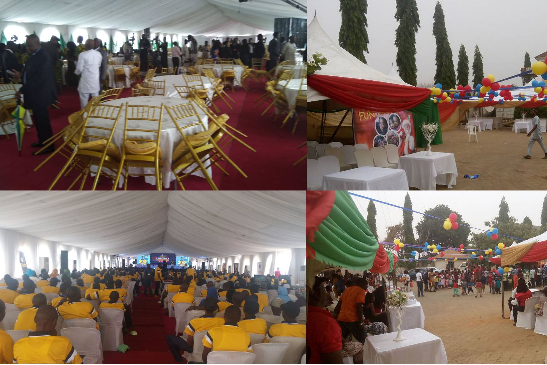 ekanson tent and event slide1 - Home - TENT AND MARQUEE RENTALS IN ABUJA NIGERIA