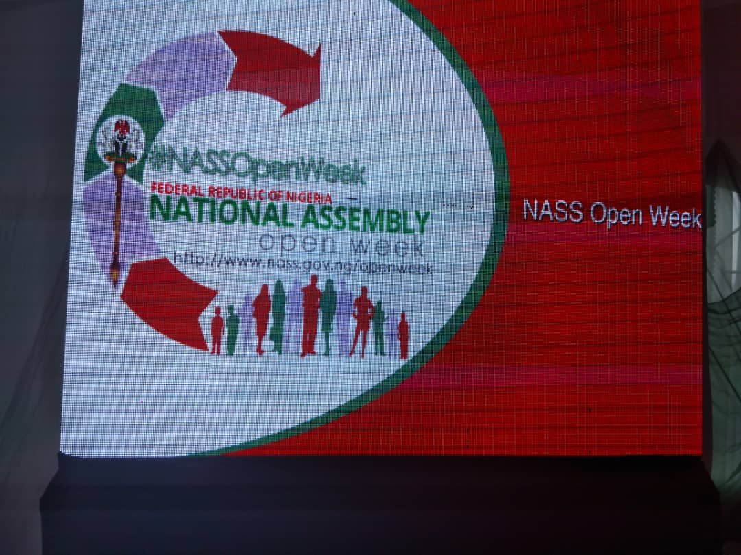 National Assembly Open Week held in National Assembly premises in Abuja, Nigeria.