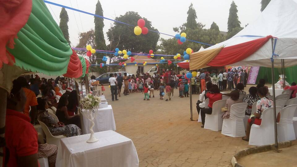 Kiddies Fun Party at Love FM, Abuja.
