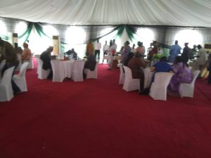graduation lunch institute for security studies department of state securitydss abu7 300x225 - GRADUATION LUNCH, INSTITUTE FOR SECURITY STUDIES, DEPARTMENT OF STATE SECURITY(DSS), ABUJA, NIGERIA. - TENT AND MARQUEE RENTALS IN ABUJA NIGERIA